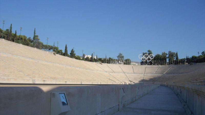 Panathinaiko-Stadium,-Athen